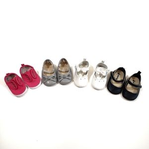 GAP Baby Girl Shoe Lot Size 0-3, 3-6 ,1